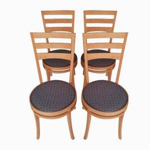 Chairs by Takashi Okamura & Erik Marquardsen for Getama, Denmark, 1990s, Set of 4