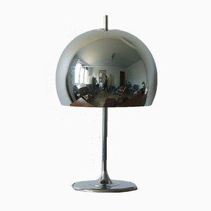 Lampe de Bureau Champignon en Chrome, 1970s