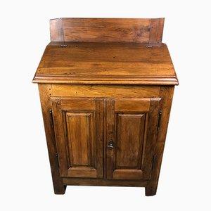 Schreibtisch aus massivem Eichenholz, 19. Jh