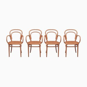 No. 214 RF Chairs by Michael Thonet for Thonet, 1998, Set of 4