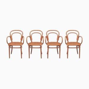 Nr. 214 RF Stühle von Michael Thonet für Thonet, 1998, 4er Set