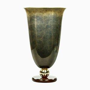 Mangani Firenze Porcelain Ground Vase, 1970s