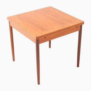 Mid-Century Modern Extendable Teak Dining Table, 1960s