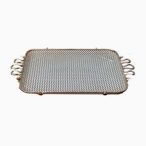 Petite Tablette Mid-Century Perforée