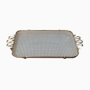 Small Mid-Century Perforated Tablet