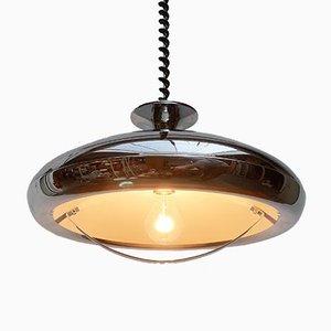 Mid-Century Italian Space Age Ufo Pendant Lamp