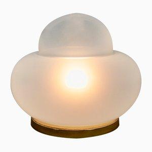 Opalglas Lampe, 1970er