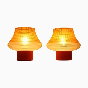 Mid-Century Table Lamps by Pokrok Zilina, 1960s, Set of 2