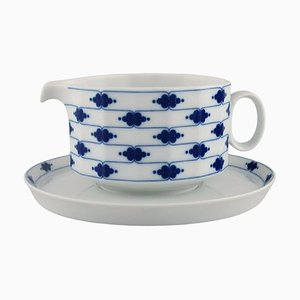 Corinth Butter Jug on Saucer in Porcelain by Tapio Wirkkala for Rosenthal, Set of 2