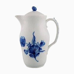 Blue Flower Braided Lidded Model Number 10/8145 Jug from Royal Copenhagen