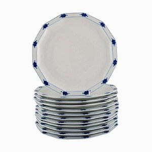 Corinth Dinner Plates in Porcelain by Tapio Wirkkala for Rosenthal, Set of 12