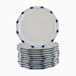 Corinth Teller aus Porzellan von Tapio Wirkkala für Rosenthal, 12er Set