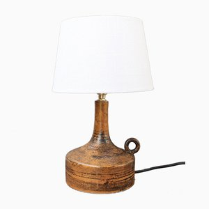Mid-Century French Ceramic Table Lamp by Jacques Blin