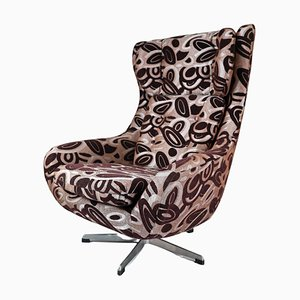 Swivel Wing Chair, Czech Republic, 1970s