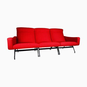 Sectional Sofa Seat by Joseph-André Motte for Steiner, France, 1950s, Set of 3