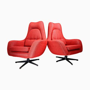 Swivel Chairs, Czech Republic, 1970s, Set of 2