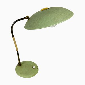 Green Italian Table Lamp in the Style of Stilnovo, 1960s, Italy