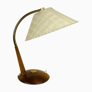 Teak Tischlampe von Temde, 1970er