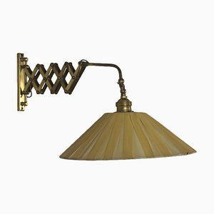 Brass Extension Lamp, Italy, 1950s