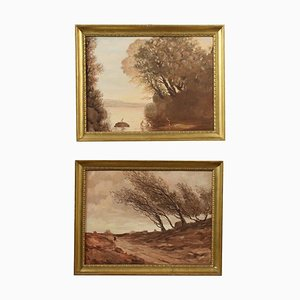 Empire Style Frames, Set of 2