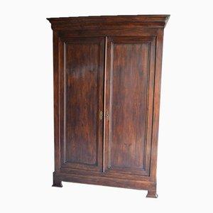 Antique Oak Louis Philippe Style Cabinet