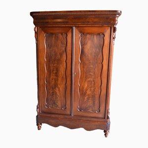 Antique Mahogany Biedermeier Cabinet