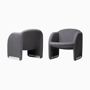 Ben Chairs by Pierre Paulin for Artifort, Set of 2