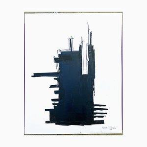 André Ferrand, Composition 5, 2010, Tusche auf Papier