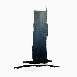 André Ferrand, Composition 2, 2010, Tusche auf Papier