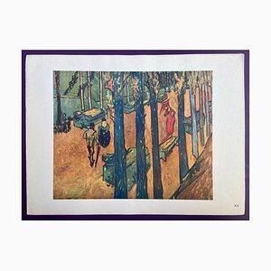 Vincent van Gogh, Lithographie XII, 1950, Papier