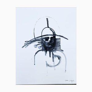 André Ferrand, Portrait 2, 2007, tinta china sobre papel