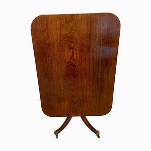 Antique Regency Mahogany Tilt Top Centre Table
