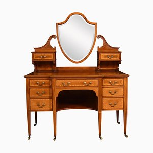 Mahogany Inlaid Dressing Table from Maple and Co.