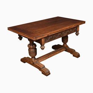 Oak Draw-Leaf Refectory Table