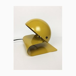 Space Age Mustard Bugia Table Lamp by Giuseppe Cormio for Guzzini, 1970s