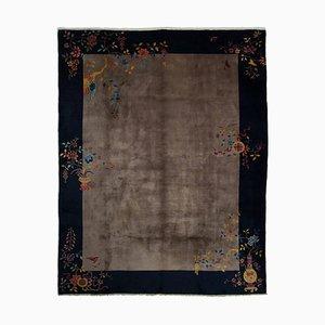 Chinesischer Floraler Teppich