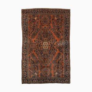 Floraler Teppich mit Zentralem Medaillon und Rand