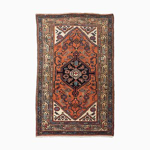 Geometric Carpet with Border and Medallion