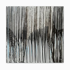 Jaanika Peerna, Big Melt # 22, 2016, Lápiz de pigmento y agua en Mylar