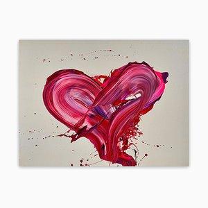 Nikolaos Schizas, My Love!, 2021, acrilico su tela