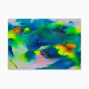 Maria Bacha, New Light I, 2020, Mixed Media on Canvas