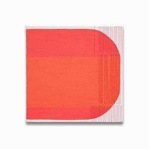 Holly Miller, Wish 7, 2013, Acryl, Graphit und Faden auf Leinwand