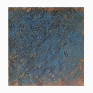 Lison Favarger, Composition, 1992, Pastell, Gerahmt