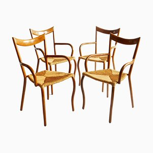Manila Dining Armchairs by Val Padilla for Jasper Conran, 1970s, Set of 4