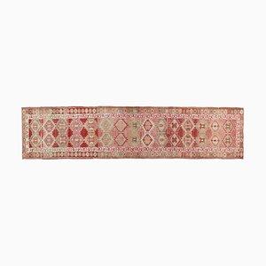 Handgeknüpfter türkischer Vintage orientalischer Oushak Teppich aus Wolle