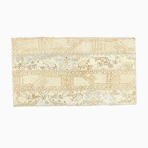 Mini Vintage Turkish Handmade Patchwork Wool Oushak Doormat