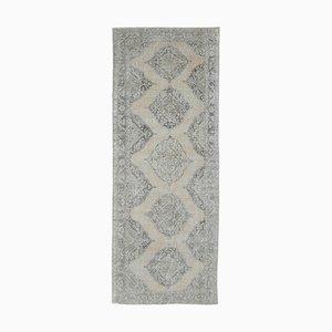 Wide Middle Eastern Handmade Wool Runner Rug