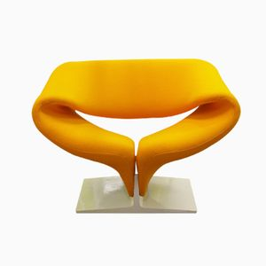 Dutch F 582 Ribbon Chair by Pierre Paulin for Artifort, 1960s