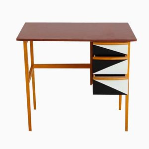 Vintage Graphic Children's Writing Desk