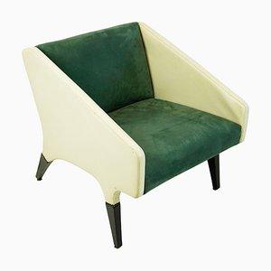 Mid-Century Italian Parco Dei Principi Lounge Chair by Gio Ponti for Cassina